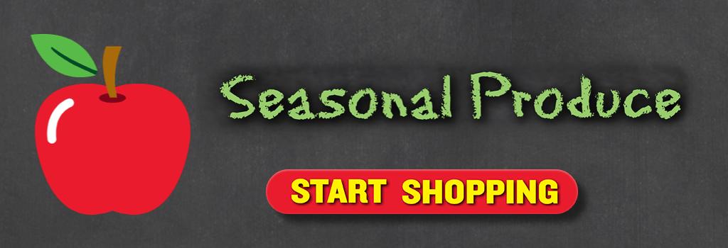 Shop Seasonal Produce